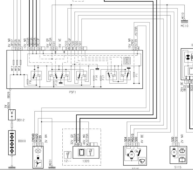citroen c5 radio wiring diagram citroen wiring diagrams online