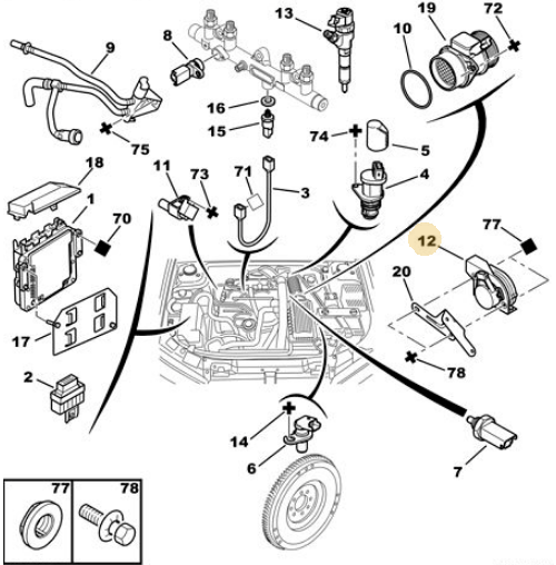 306 HDi - No throttle response and stuck on 1300 rpm    Have
