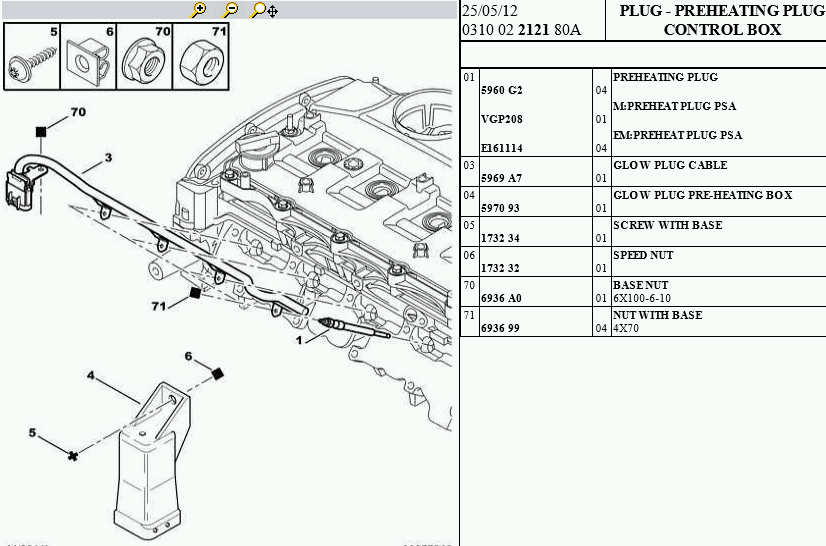 [DIAGRAM] Citroen Berlingo Glow Plug Wiring Diagram FULL