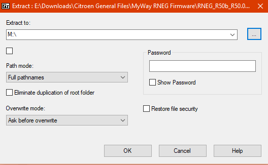 MyWay (RNEG) Firmware Upgrade Procedure - French Car Forum