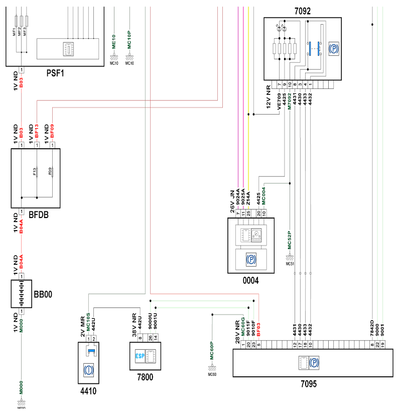 citroen wiring diagrams c4 2010 c4 electronic parking brake wiring schematic french car forum  2010 c4 electronic parking brake wiring