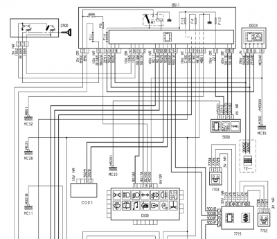 wiring diagram for xenons - 2007 mk1 facelift c5 - french car forum  french car forum home page