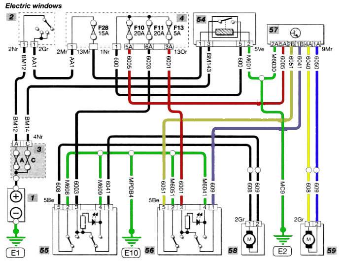 wiring diagram citroen dispatch van berlingo electric window problem french car forum  berlingo electric window problem