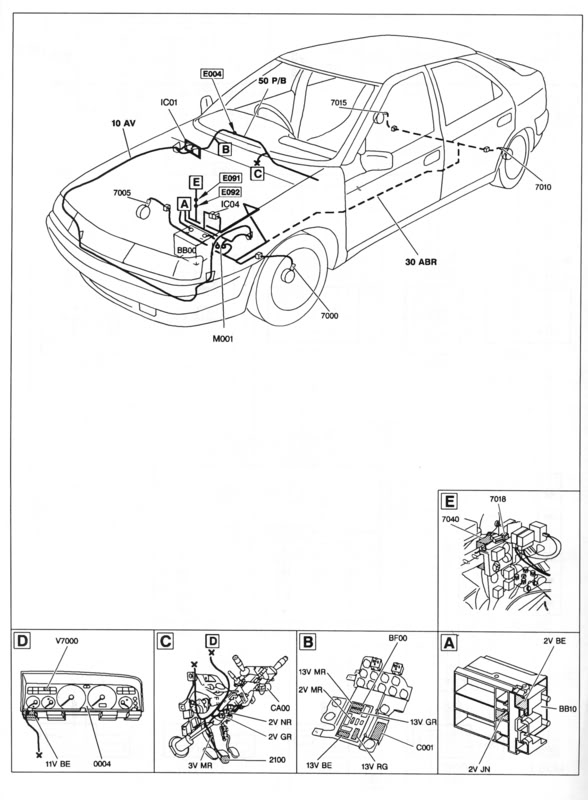 wiring diagram s  for 1 9 td xantia reqd