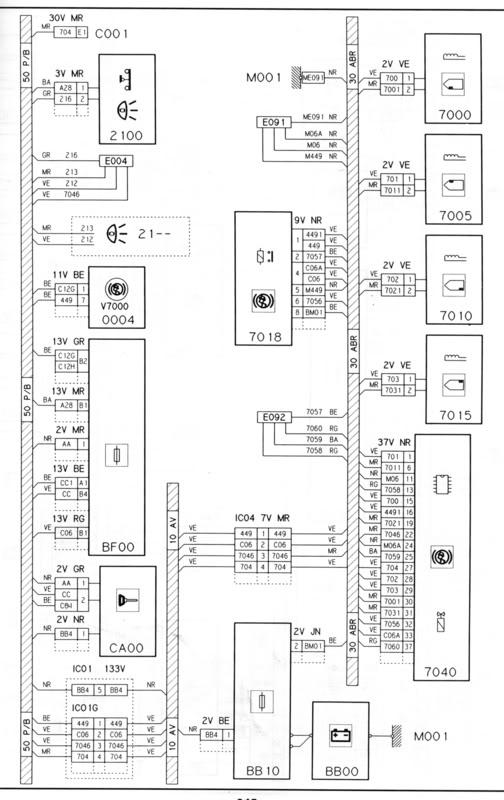 wiring diagram s  for 1 9 td xantia reqd