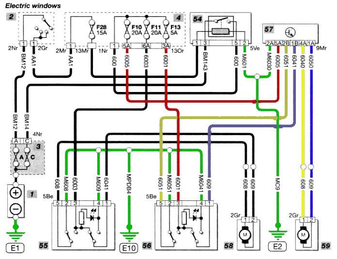citroen berlingo wiring diagram berlingo electric window problem french car forum  berlingo electric window problem