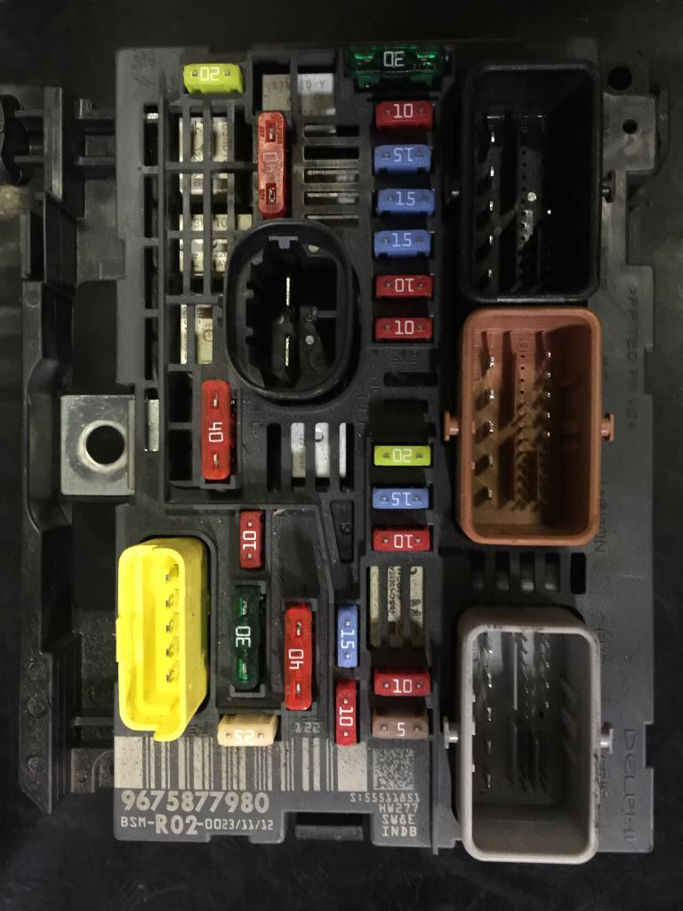 C4 Picasso under bonnet fusebox - French Car Forum | Citroen C4 Grand Picasso Fuse Box Fault |  | French Car Forum Car Stickers